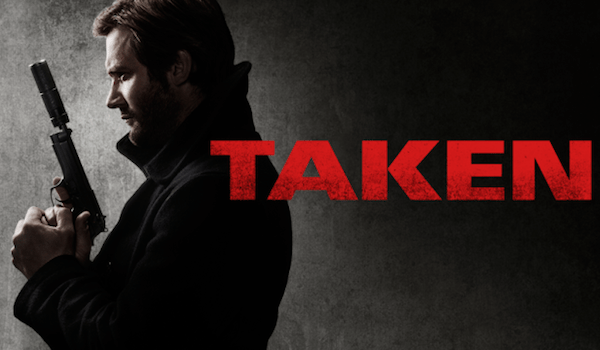 Taken NBC TV Show Banner