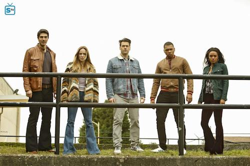Brandon Routh Caity Lotz Nick Zano Franz Drameh Maisie Richardson Sellers Raiders of the Lost Art Legends of Tomorrow