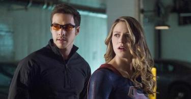 Chris Wood Melissa Benoist We Can Be Heroes Supergirl
