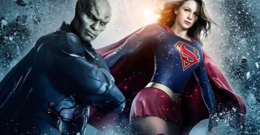 David Harewood Melissa Benoist Supergirl Poster