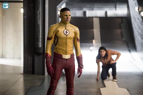 Keiynan Lonsdale Carlos Valdes Jessica Camacho Dead or Alive The Flash
