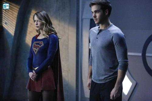 Melissa Benoist Chris Wood We Can Be Heroes Supergirl