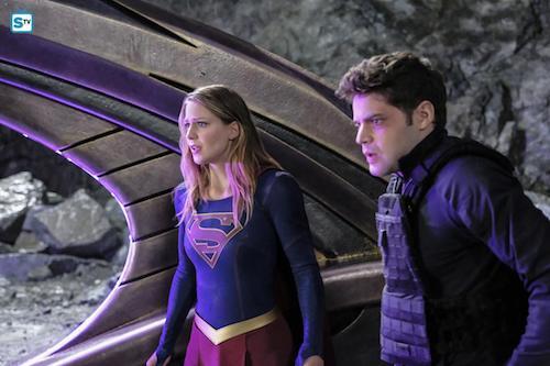Melissa Benoist Jeremy Jordan Supergirl Lives Supergirl