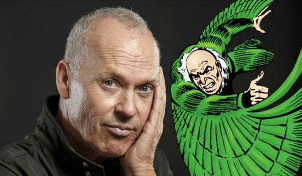 Michael Keaton Spider Man Comic