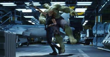 Thor Hulk Fight The Avengers