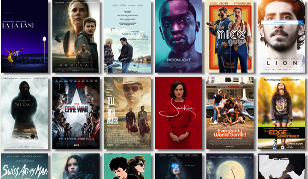 2016 Movie Posters