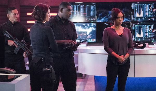 Chyler Leigh David Harewood Sharon Leal The Martian Chronicle Supergirl
