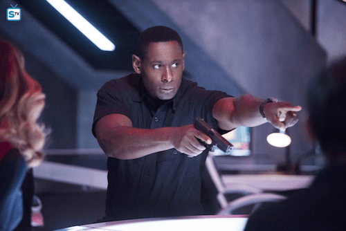 David Harewood The Martian Chronicle Supergirl