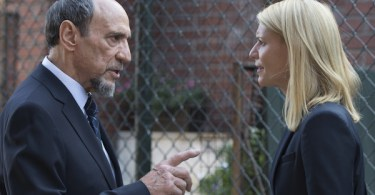 F. Murray Abraham Claire Danes Homeland A Flash of light