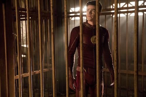Grant Gustin Attack on Gorilla City The Flash