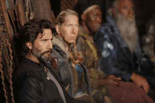 Henry Ian Cusick The 100 Heavy Lies the Crown