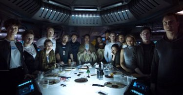 James Franco Michael Fassbender Katherine Waterston Billy Crudup Alien Covenant
