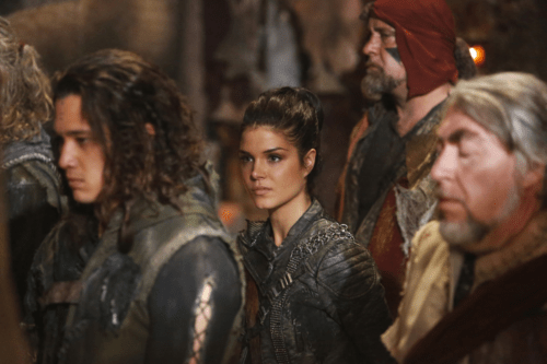 Marie Avgeropoulos The 100 Heavy Lies the Crown