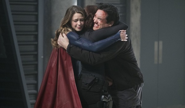 Melissa Benoist Chyler Leigh Dean Cain Homecoming Supergirl