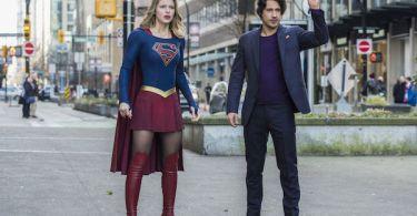 Melissa Benoist Peter Gadiot Mr. and Mrs. Mxyzptlk Supergirl