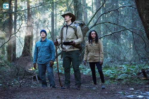 Nick Zano Brandon Routh Maisie Richardson-Sellers Land of the Lost Legends of Tomorrow