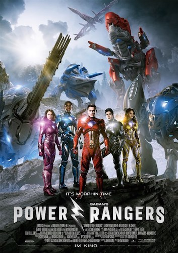 Power Rangers German Poster