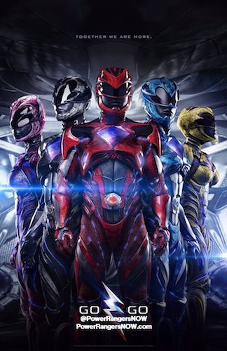 Power Rangers International Poster