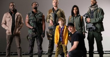 The Predator Cast Photo