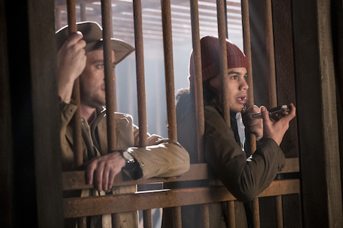 Tom Felton Carlos Valdés Attack on Gorilla City The Flash
