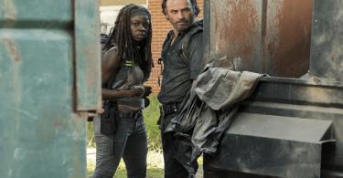 Danai Gurira Andrew Lincoln The Walking Dead Say Yes