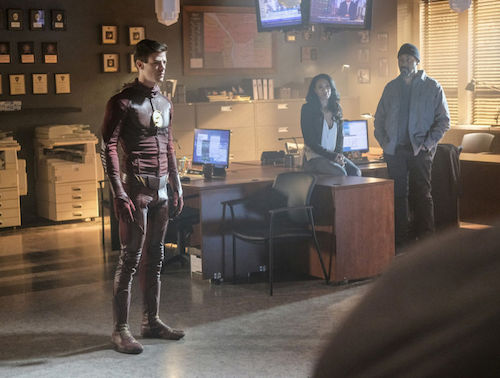 Grant Gustin Candice Patton Jesse L. Martin Into the Speed Force The Flash
