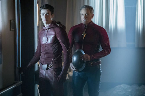 Grant Gustin John Wesley Shipp Into the Speed Force The Flash
