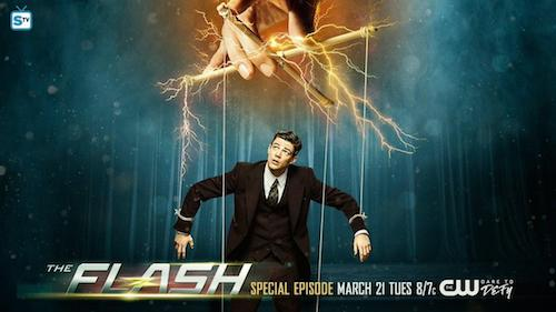 Grant Gustin Supergirl The Flash Musical Crossover Poster