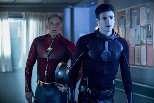 John Wesley Shipp Grant Gustin Into the Speed Force The Flash