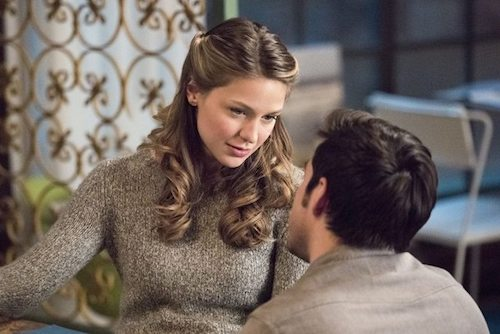 Melissa Benoist Chris Wood Exodus Supergirl