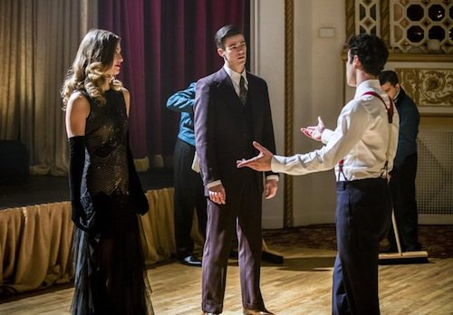 Melissa Benoist Grant Gustin Darren Criss Duet Supergirl The Flash