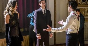 Melissa Benoist Grant Gustin Darren Criss Duet Supergirl The Flash