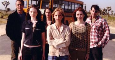 Sarah Michelle Gellar Nicholas Brendon Michelle Trachtenberg Alyson Hannigan Anthony Head Eliza Dushku Buffy the Vampire Slayer Chosen