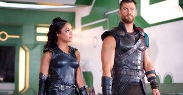 Tessa Thompson Chris Hemsworth Thor: Ragnarok