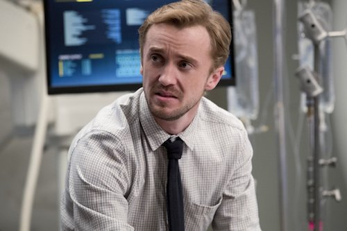 Tom Felton Abra Kadabra The Flash