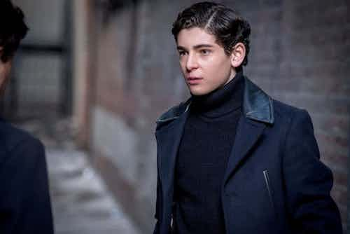 David Mazouz How The Riddler Got HIs Name Gotham