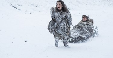 Ellie Kendrick Isaac Hempstead-Wright Games of Thrones: Season 7