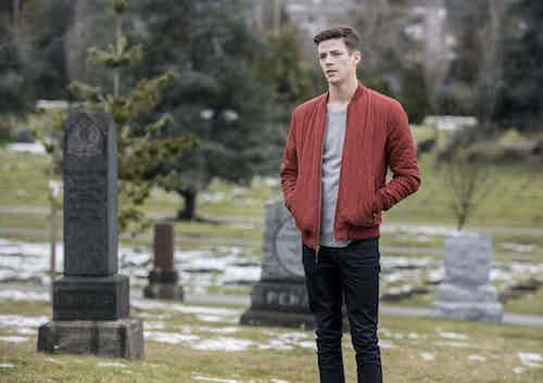 Grant Gustin The Once and Future Flash The Flash