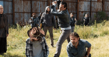 Jeffrey Dean Morgan Chandler Riggs Andrew Lincoln The Walking Dead The First Day of the Rest of Your Life