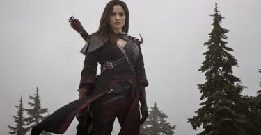 Katrina Law Nyssa al Ghul Arrow Returns