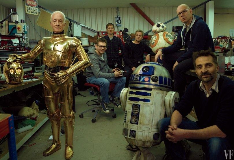 Anthony Daniels Star Wars: The Last Jedi Vanity Fair