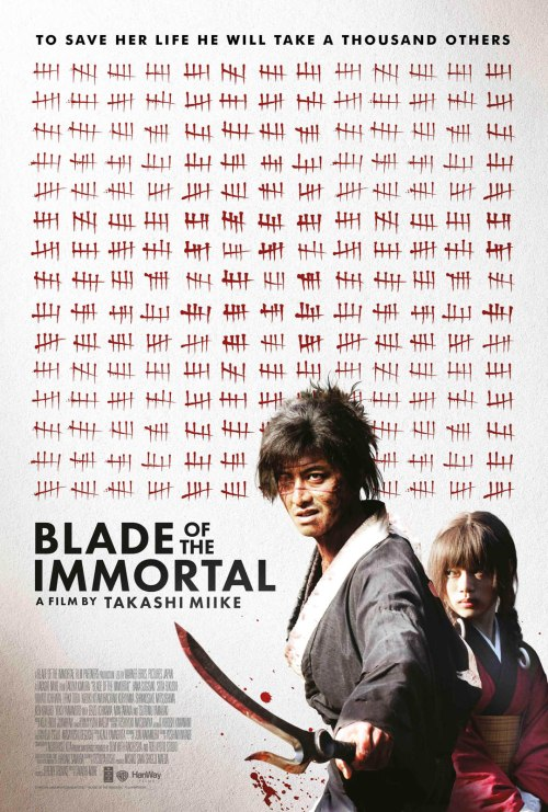 Blade of the Immortal Movie Poster