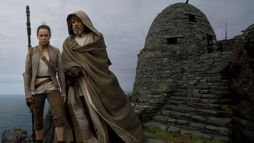 Daisy Ridley Mark Hamill Star Wars: The Last Jedi Vanity Fair