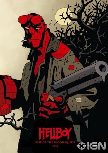 Hellboy: Rise of the Blood Queen Artwork