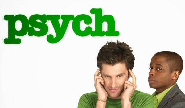 James Roday Dule Hill The Psych