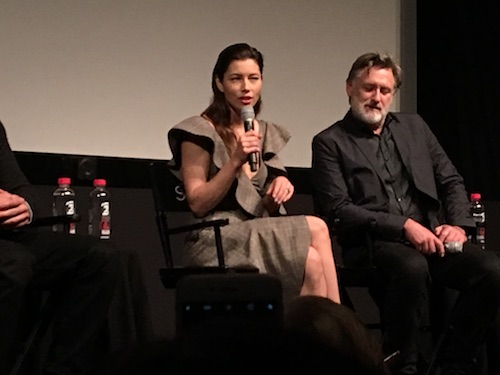 Jessica Biel The Sinner Tribeca Panel