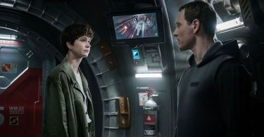Katherine Waterston Michael Fassbender Alien: Covenant