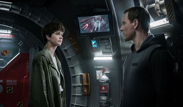 Katherine Waterston Michael Fassbender Alien: Covenant