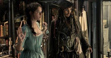 Johnny Depp Kaya Scodelario Pirates of the Caribbean: Dead Men Tell No Tales