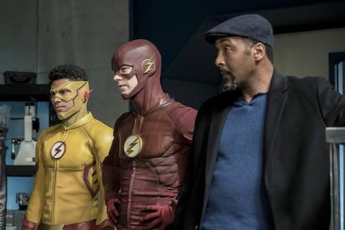 Keiynan Lonsdale Grant Gustin Jesse L. Martin Cause and Effect The Flash